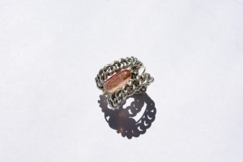 Ring mit Imperial Topas